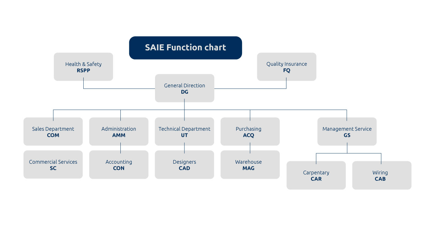 SAIE function chart